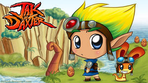 -Jak and Daxter PSP- by ZombiDJ