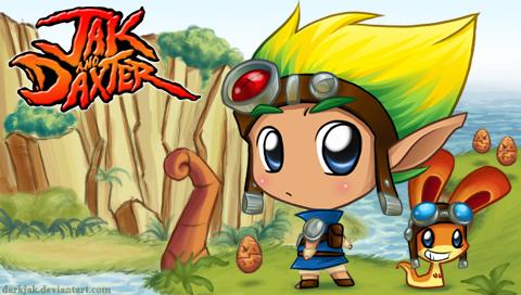 Jak and Daxter PSP- by ZombiDJ