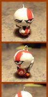 GOW Kratos Charm