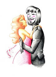 Kiss me V by VforVendettaClub