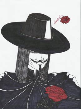 V-Mask by Roselyn