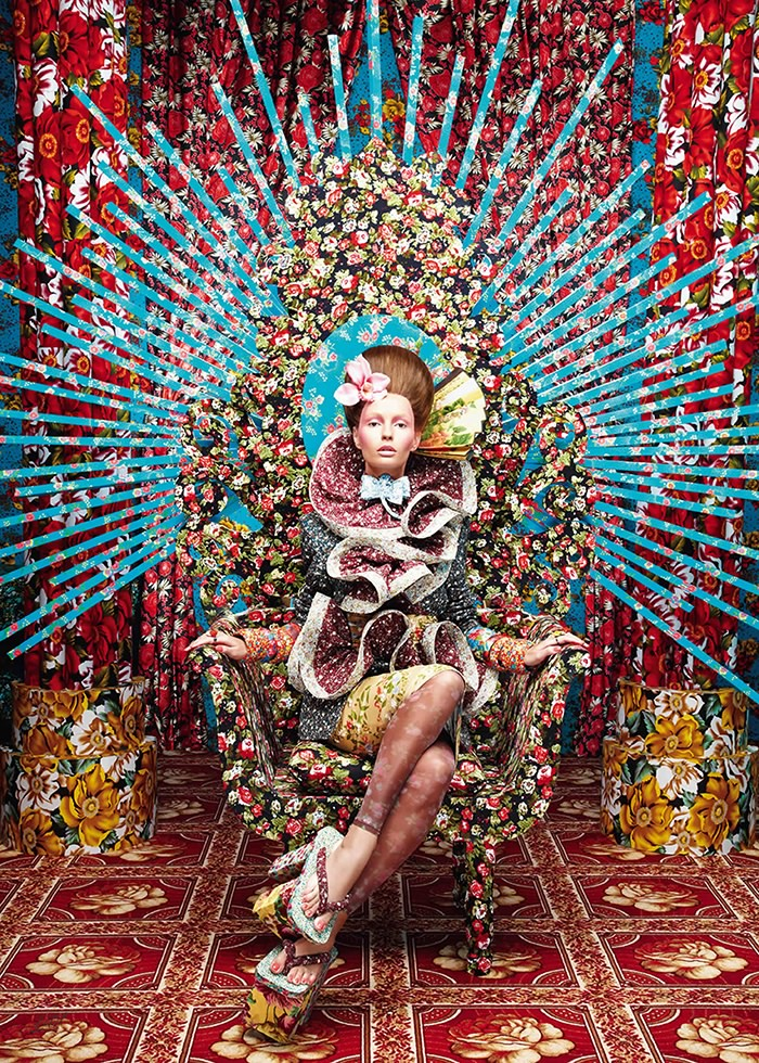 تابلو عکس، مدل سلطنت گل ها