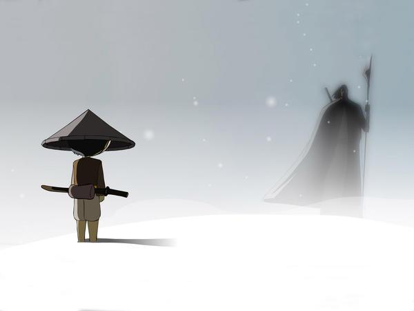 The mountain man by AkiraNinja