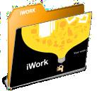 iwork Folder Icon by AkiraNinja