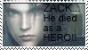 Zack the HERO - Stamp by Jashin-Sister