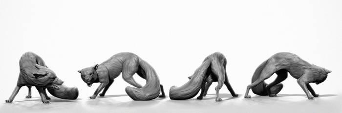 fox posing - wip01