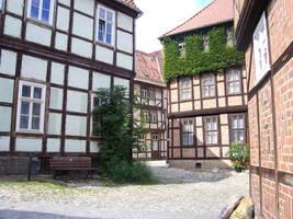 Old Houses Stock by ValerianaSTOCK