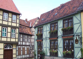Old Houses 2 Stock by ValerianaSTOCK