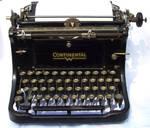 Antique Typewriter Stock