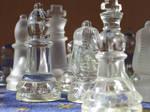 Glass Chess Stock