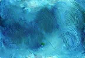 Sea Blue Texture by ValerianaSTOCK