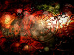 Industrial Steampunk Background Stock2