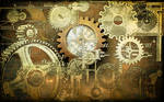 Steampunk Background STOCK