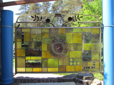 ValerianaSTOCK Iserhatsche Stained Glass Horse2