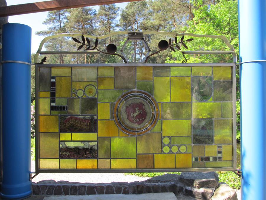 ValerianaSTOCK Iserhatsche Stained Glass Horse2 by ValerianaSTOCK
