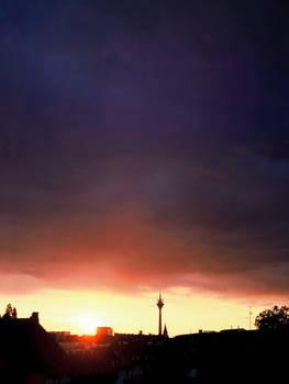 Sky above Duesseldorf Pt.4