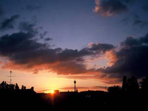Sky above Duesseldorf Pt.3