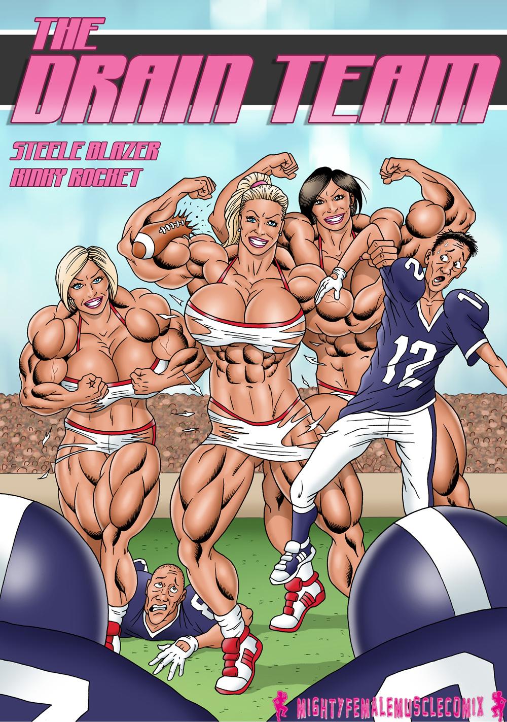 The Drain Team By KinkyRocket Cover by SteeleBlazer84