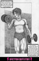 Wrestle Girl 0002 Sample by SteeleBlazer84