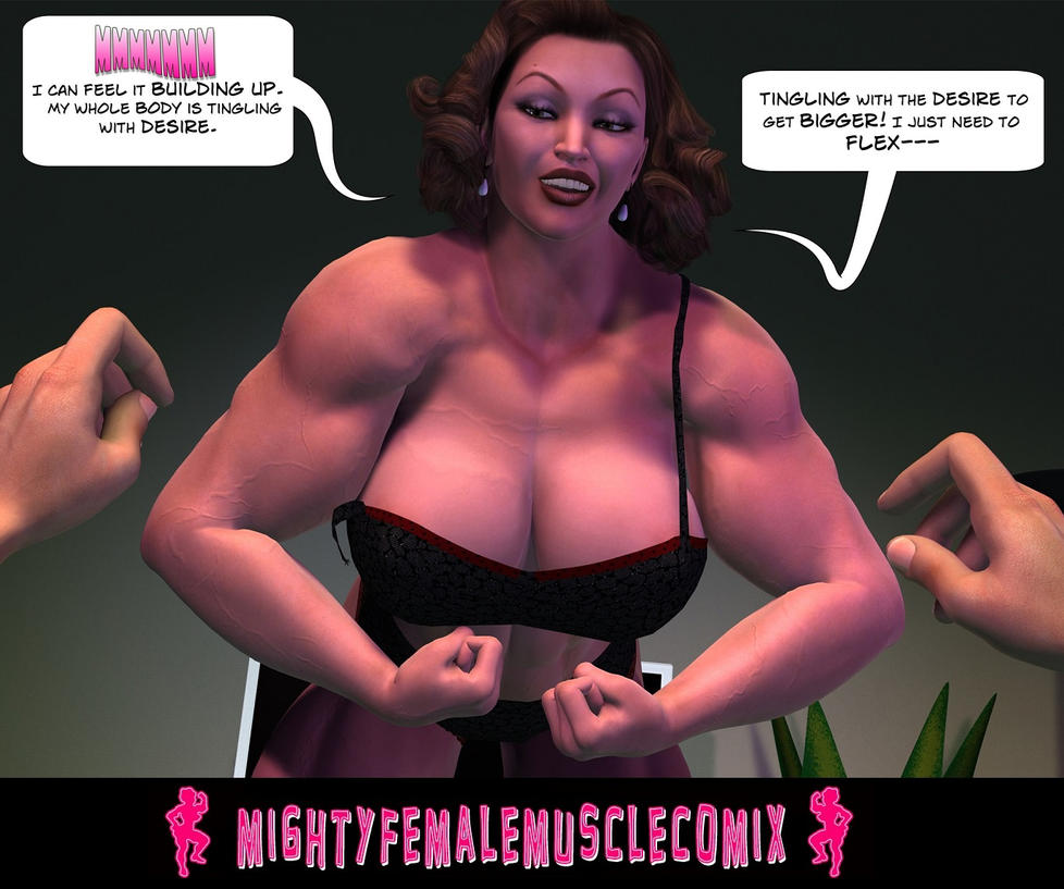 Female Muscle Tease