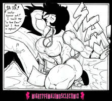 Kicking G Vs Kiss Of The Dragon Queen 02 by SteeleBlazer84