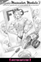 Super Muscular Models 2 Sample 1 by SteeleBlazer84