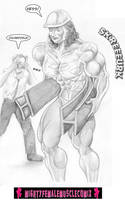 Super Muscular Models 2 Sample 4 by SteeleBlazer84