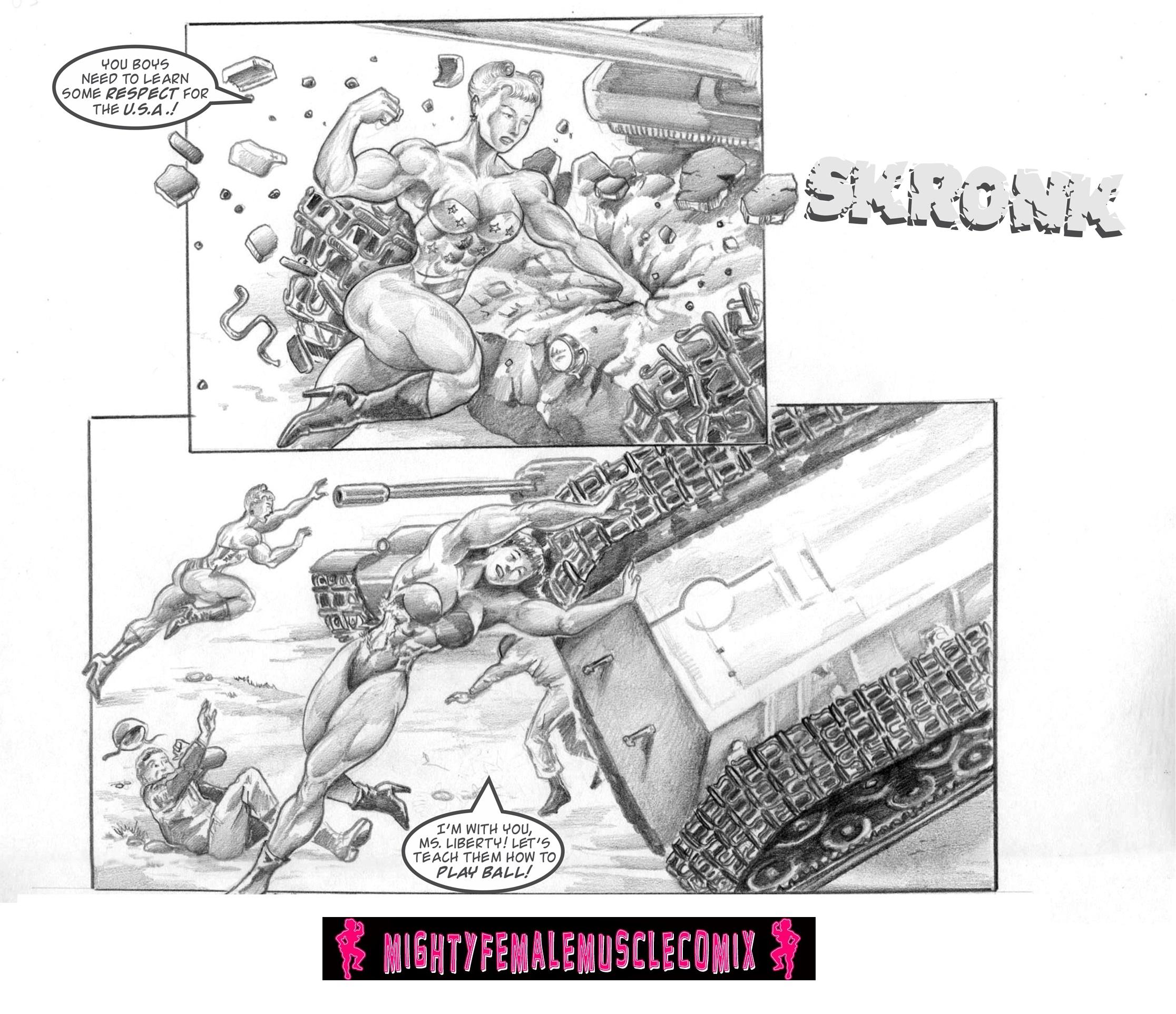 Ms. Liberty #3 Part 1 Sample 2 by SteeleBlazer84