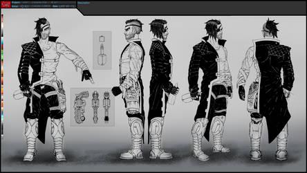CyART - TTT Characters - RIOT INK V2 by CyART-CiprianFlorea