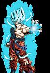 Goku Super Saiyan God Super Saiyan DBXV