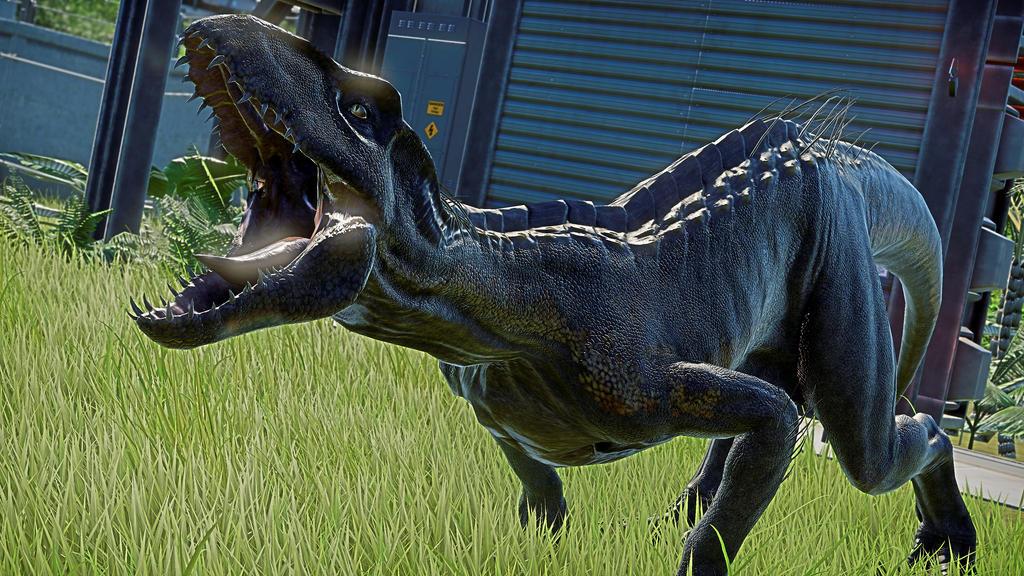 Indoraptor - Jurassic World Evolution Background by ArmorKingTV21