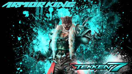 Armor King - Tekken 7 Wallpaper