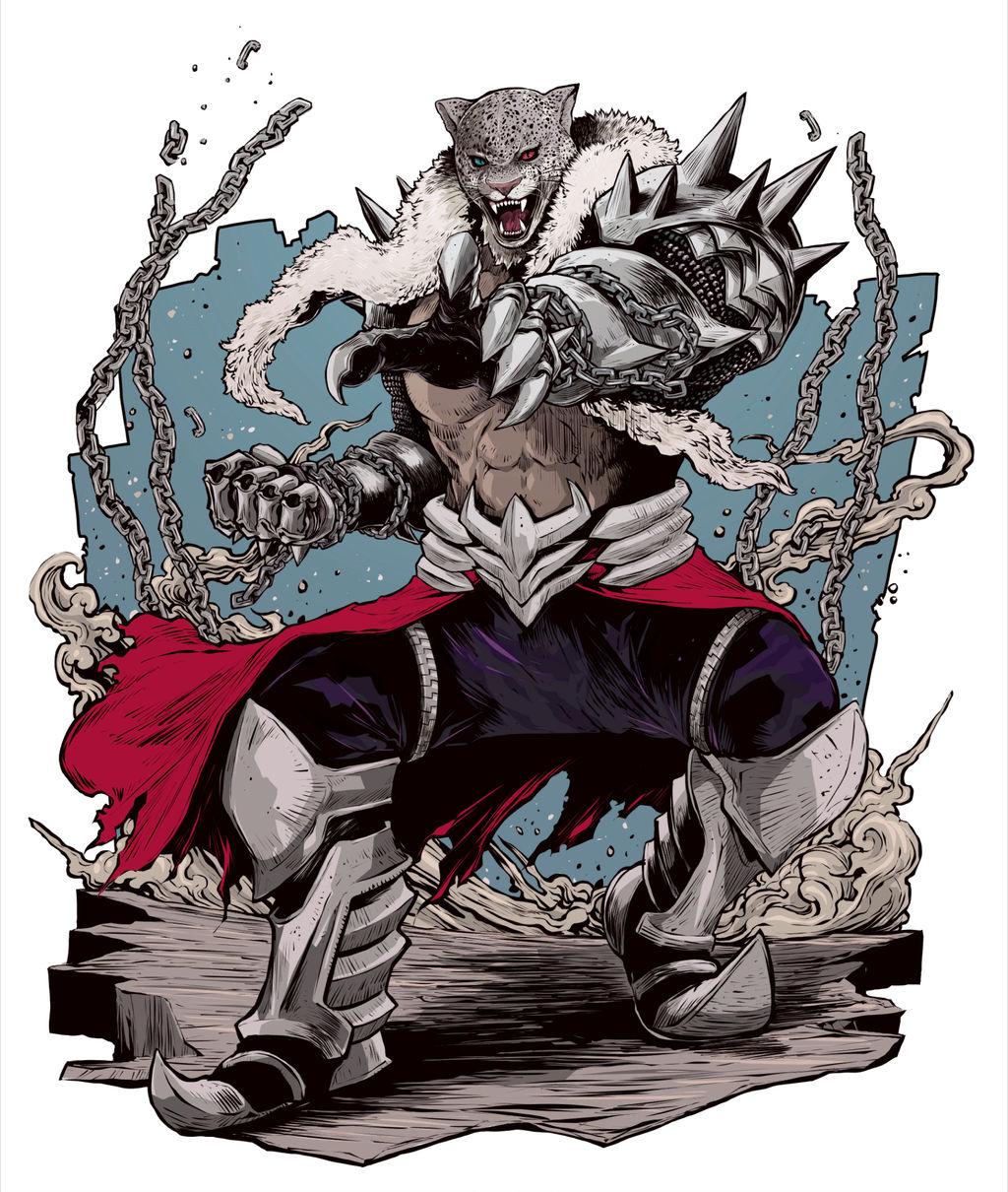 Armor King Full Body Character Artwork Tekken 7 By Armorkingtv21