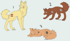 Paint Wolf adoptables 3
