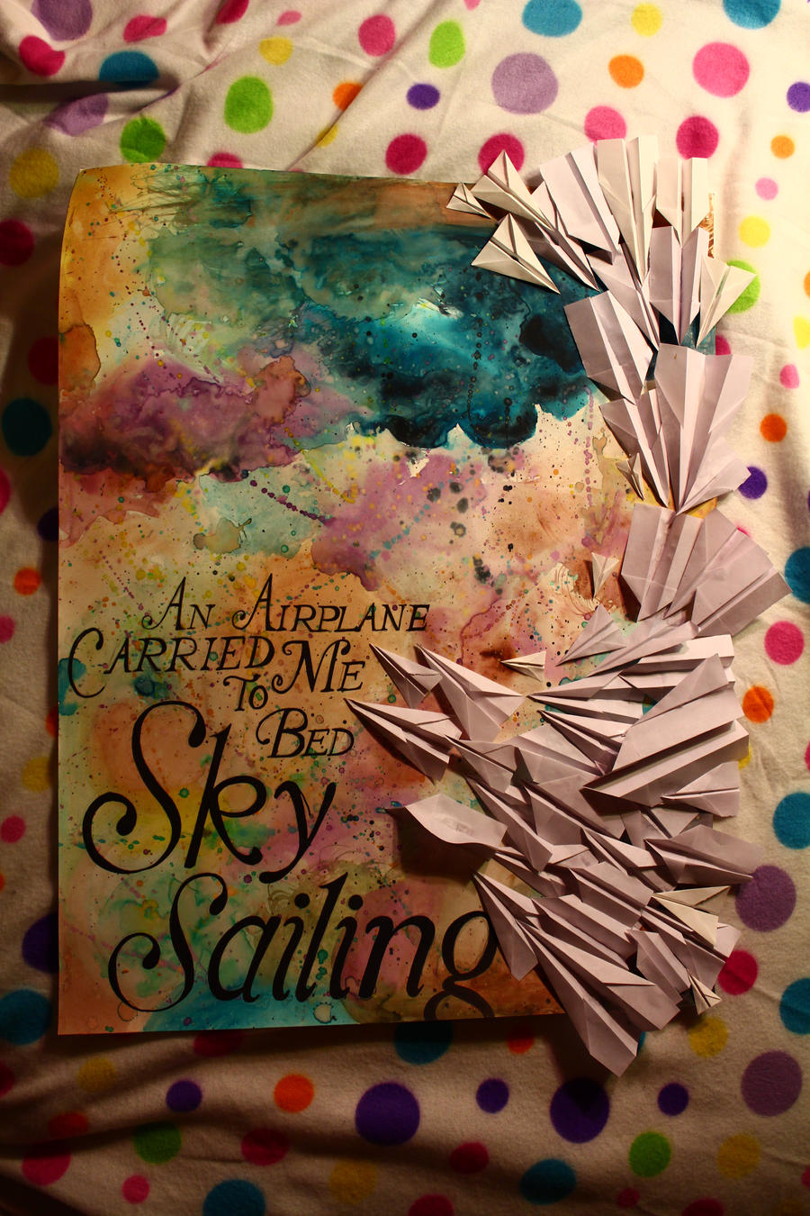 Sky Sailing Poster by ForkNayon