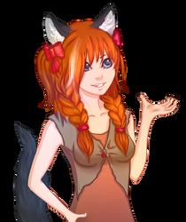 Kitsune by ShadowOfSunshine