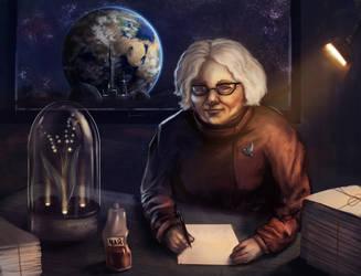 Space Granny  by ShadowOfSunshine