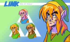 Retro Link Portraits