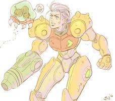 Happy 30th Metroid! by JoeyNash