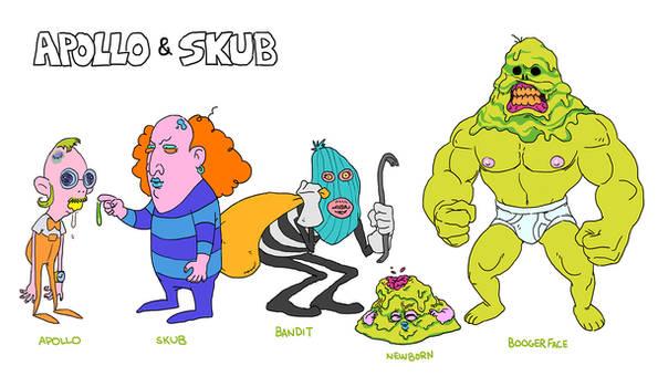 apollo and skub character sheet