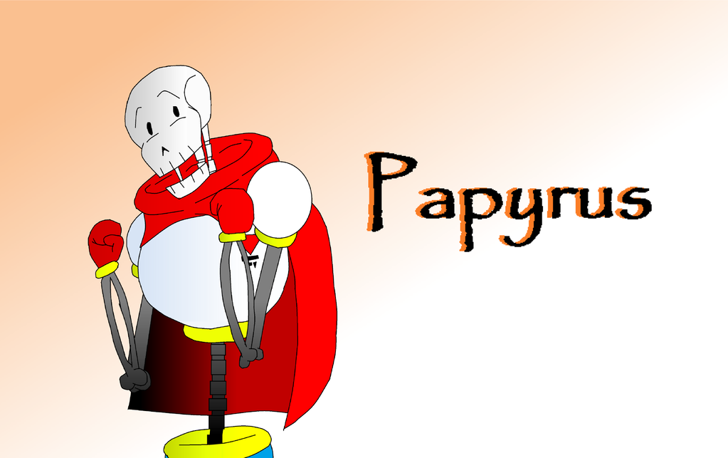The GREAT Papyrus! by DawnVampyra01