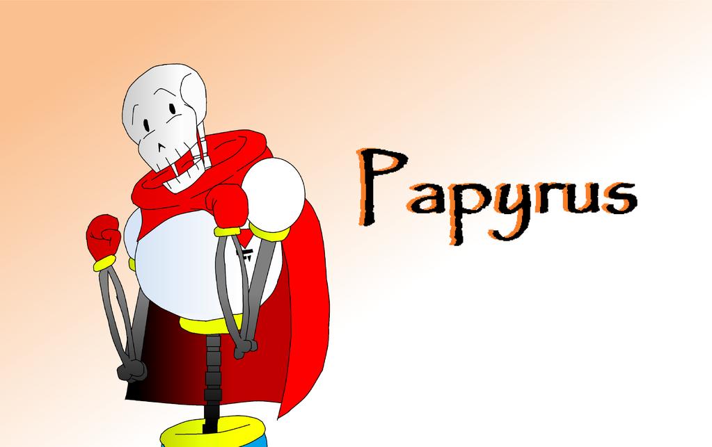 The GREAT Papyrus! by DawnVampyra01