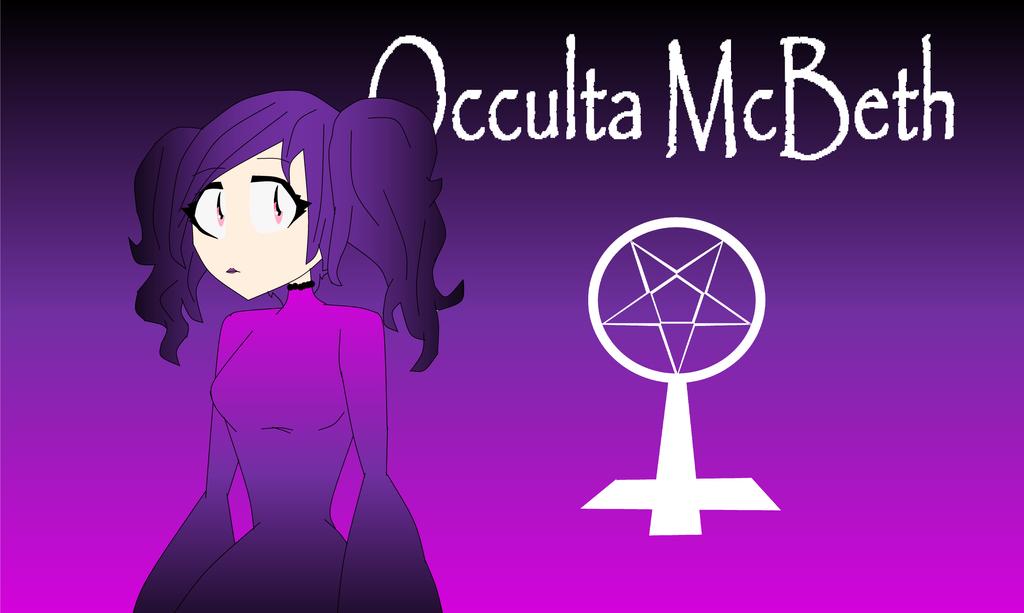 Occulta McBeath by DawnVampyra01