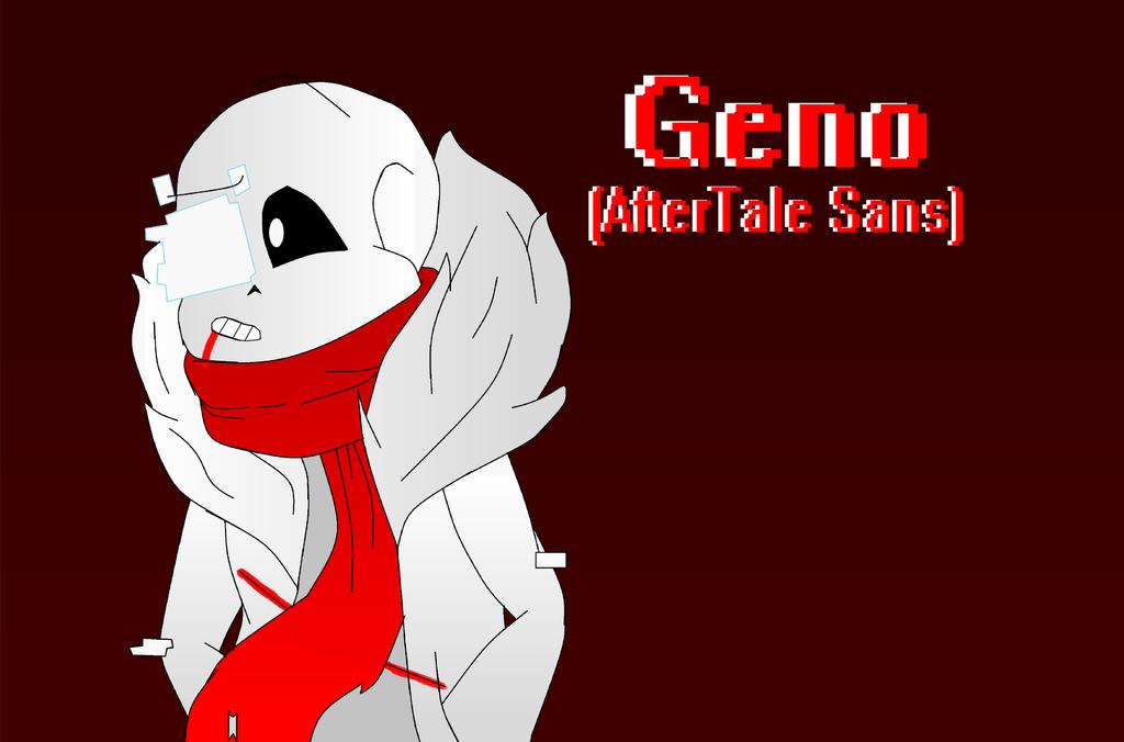 Geno Sans (W/ Speedpaint) by DawnVampyra01