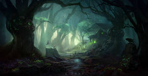 Mystic Forest by giaonp