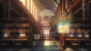 Grand magical library