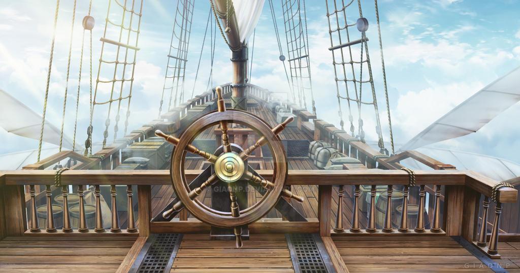 Fantasy ship by giaonp