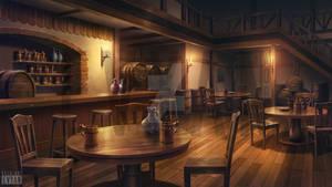 Tavern | Illustration Artwork for Visual Novel BG