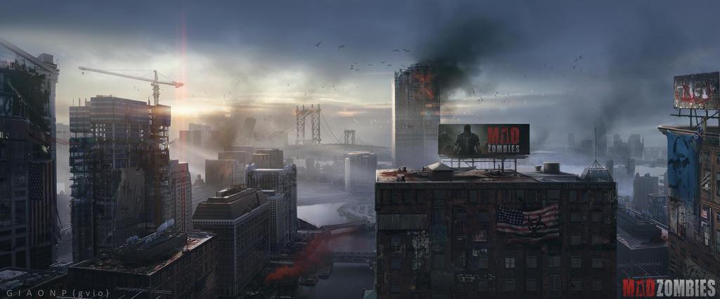 City Apocalypse by giaonp