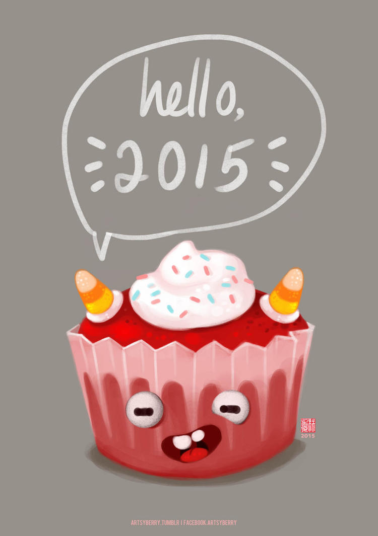 Happy New Year 2015 by chimpansy